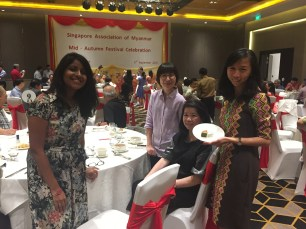 Singapore-Myanmar Association Mid-Autumn Festival dinner